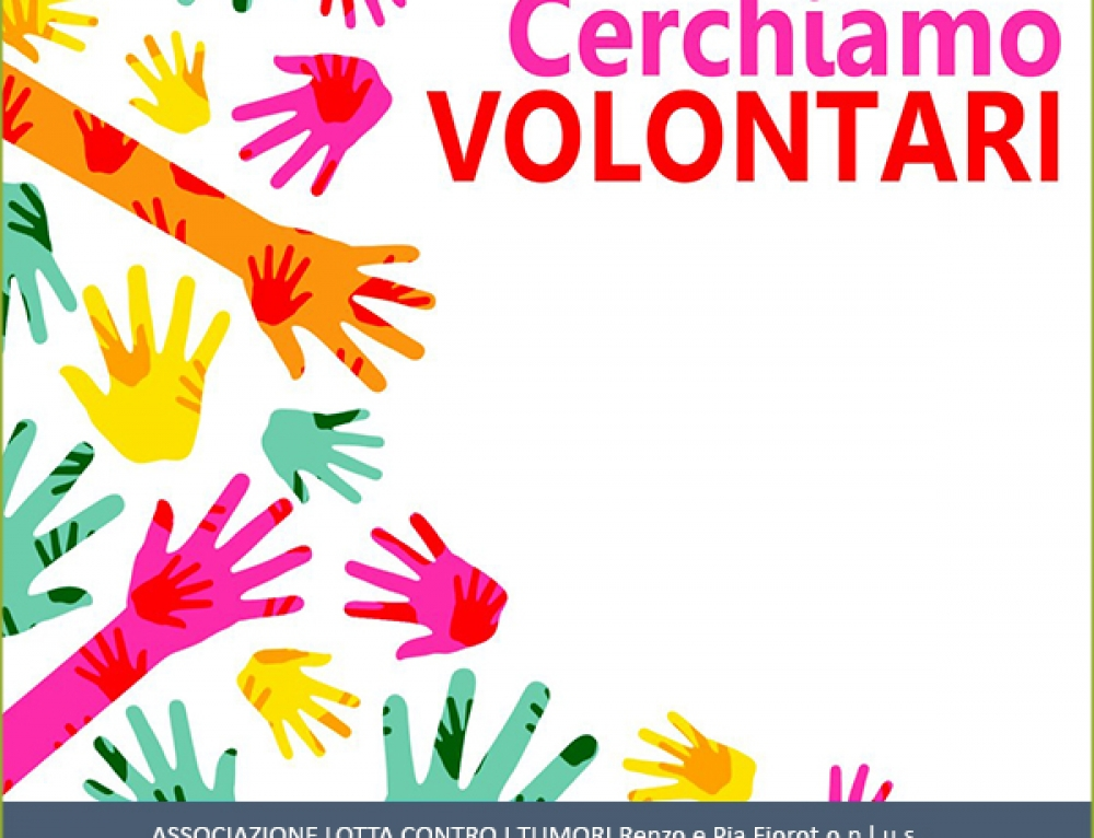 A.A.A. volontari…