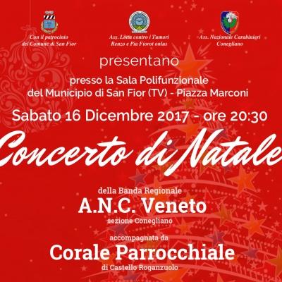concerto di natale corale parrochiele castello roganzuolo e banda carabinieri conegliano