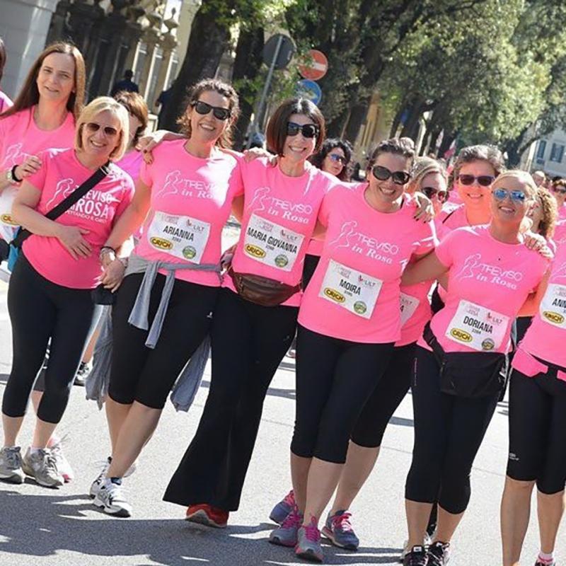 quarta edizione della corri in rosa
