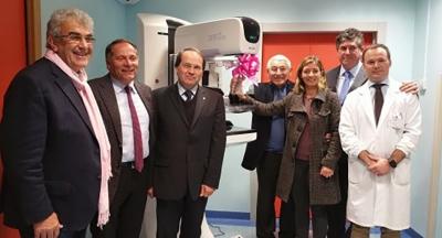 la-nuova-apparecchiatura donata all'ULLS dall'Associazione fiorot