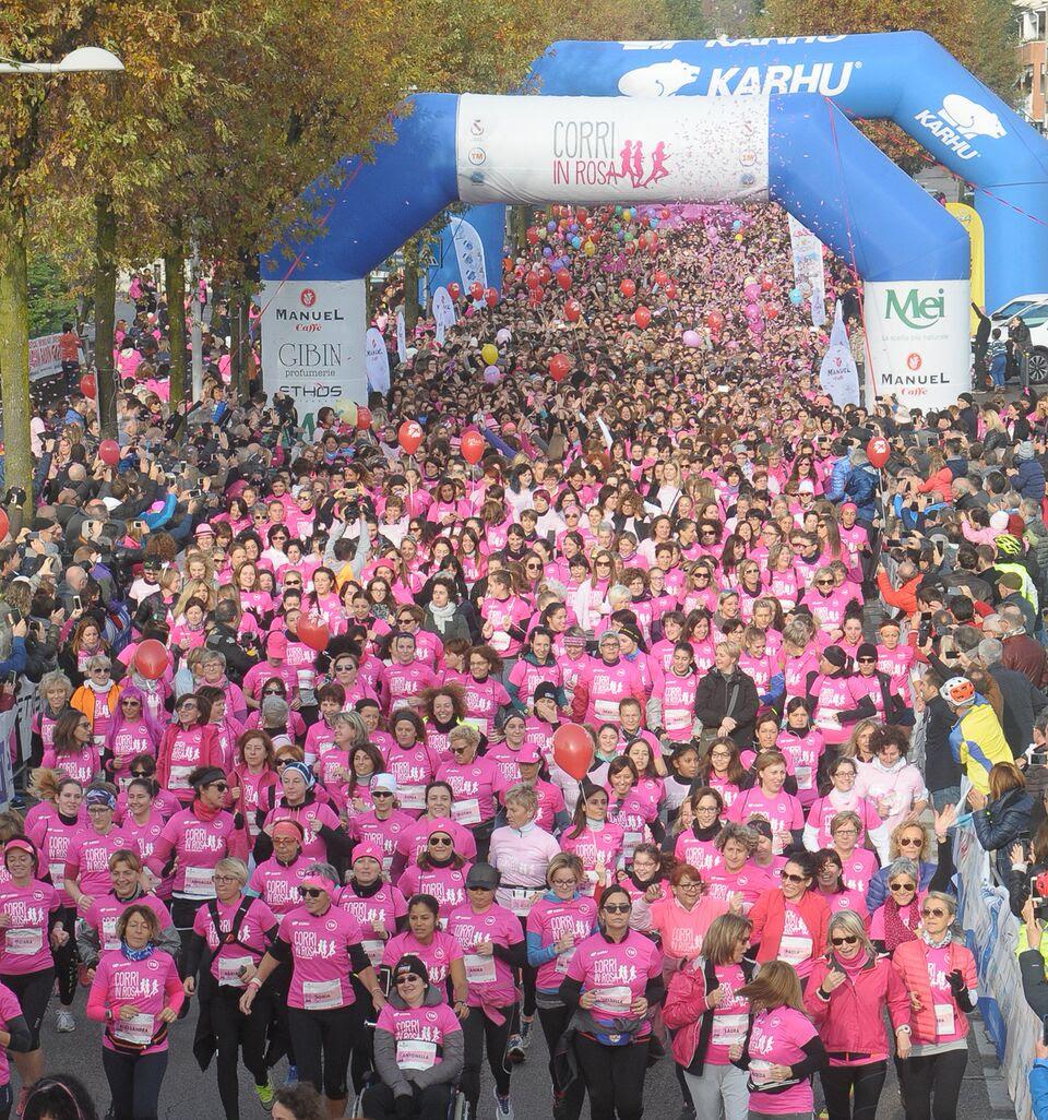 la partenzza della corri in rosa 2016